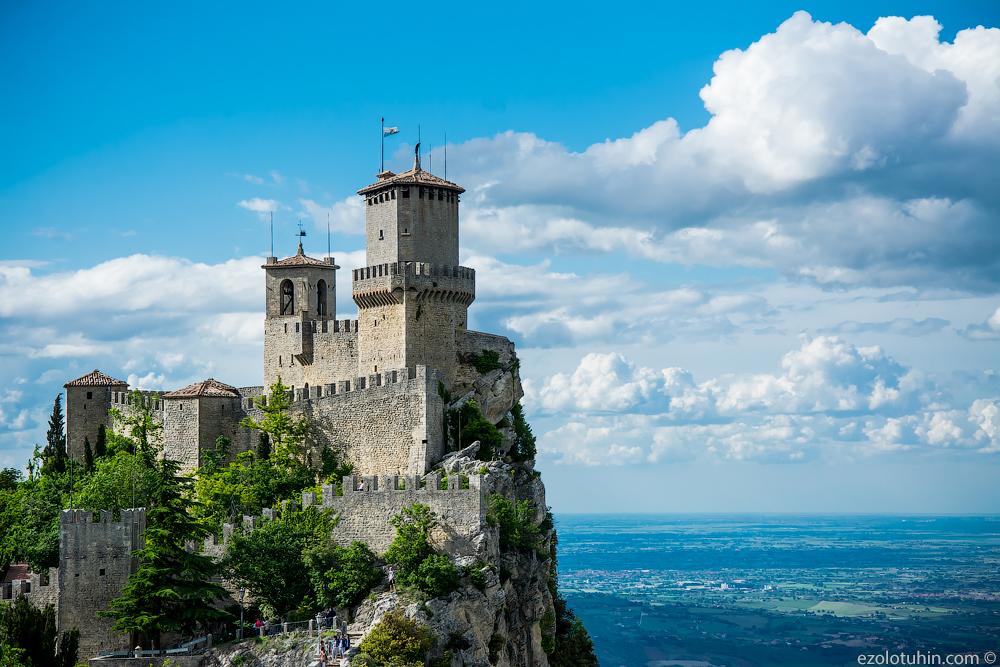 Три башни - три символа Сан-Марино