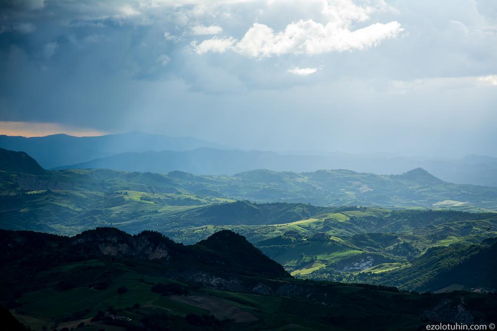 Потрясающие пейзажи Сан-Марино
