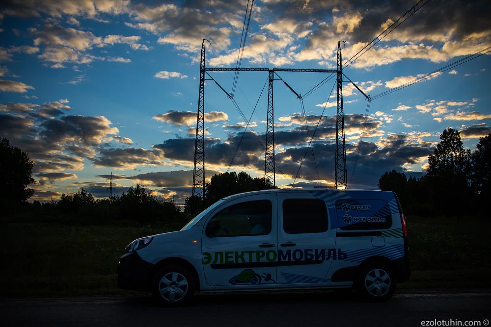 На электромобиле по Сибири. Делаем счастливее детей и мэров городов