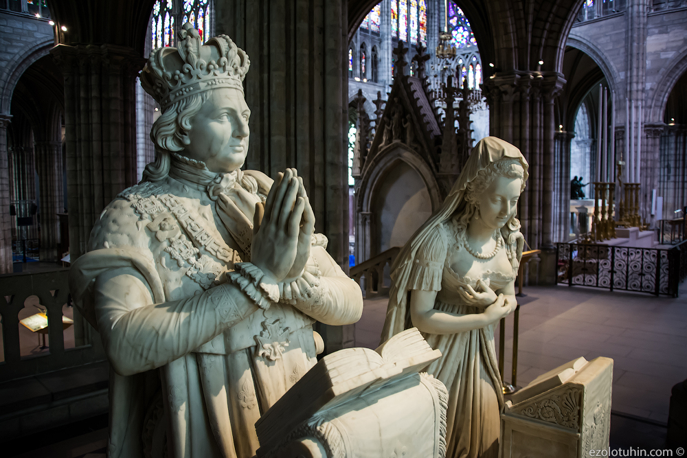 Первый в мире готический собор. И где похоронена Мария Антуанетта?
