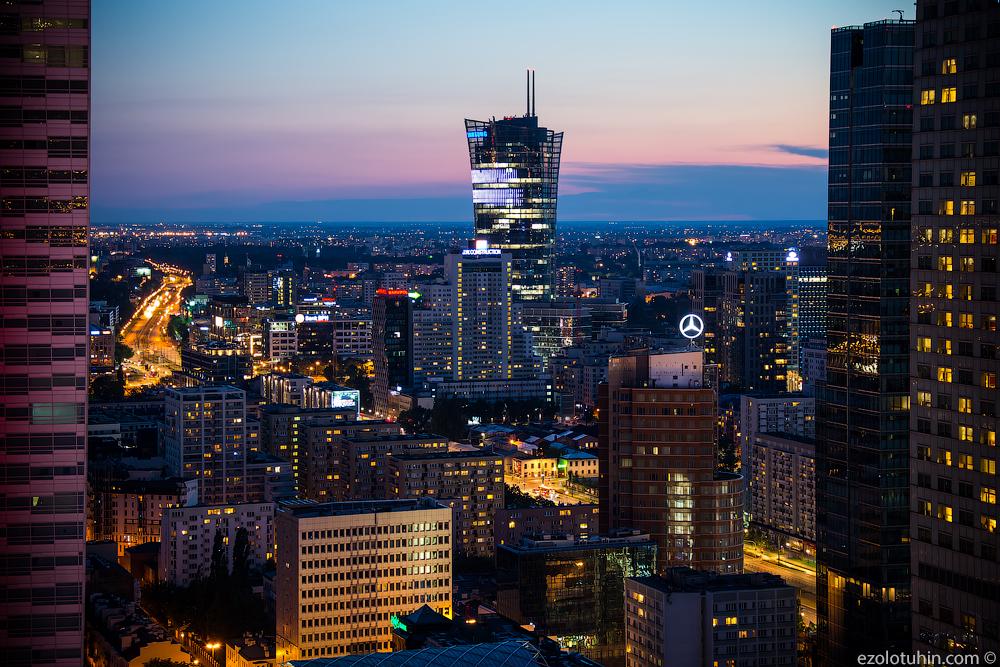 Лучший видок столицы Польши