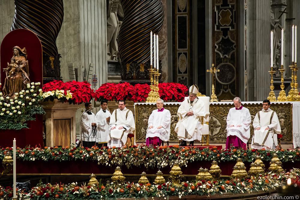 рождественские поздравления папы римского даже представляешь, как