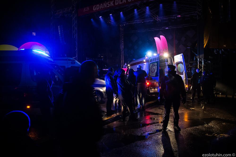 В Польше совершили покушение на мэра города Гданьск. Стал свидетелем произошедшего