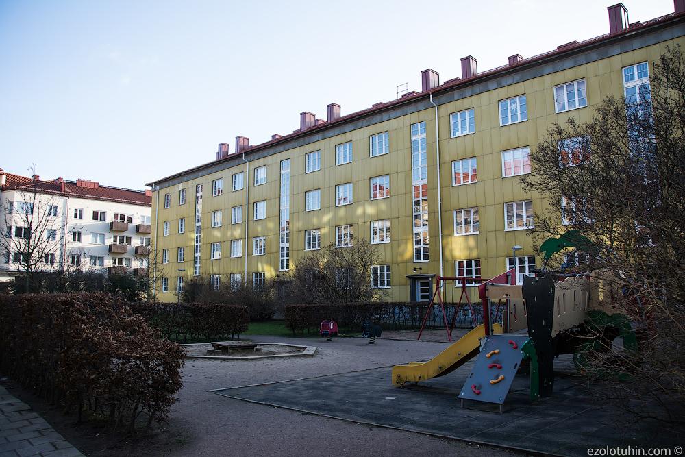 Как выглядят дворы в обычных шведских домах попасть, ктото, дворы, снова, внутренний, время, здесь, обычных, вообще, машин, только, примерно, велосипедов, пользуются, особо, автомобили, организовал, выходить, устраивать, Можно