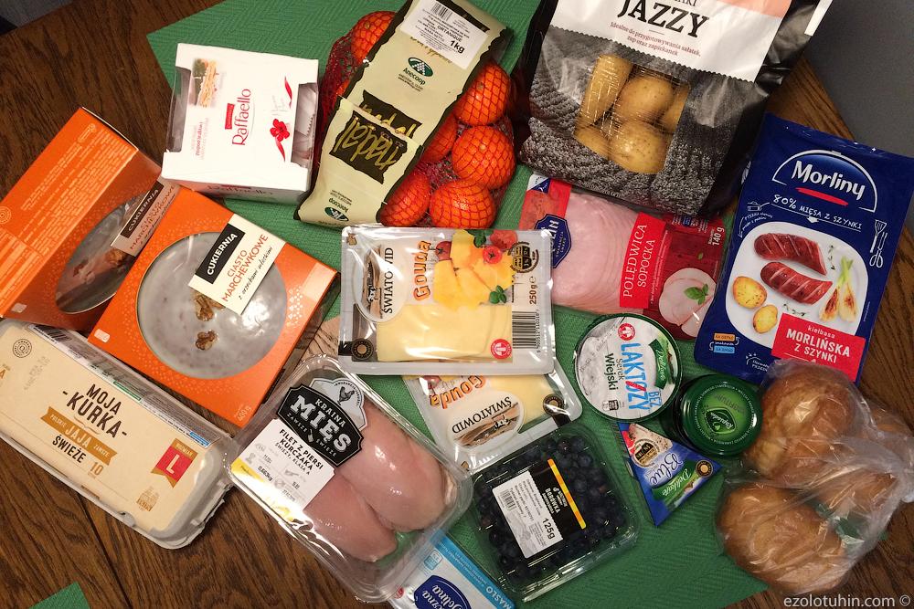 Сколько стоят продукты в Польше. Актуальные цены из супермаркета и что удалось купить на 1500 рублей