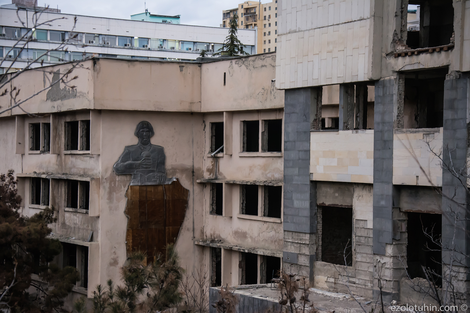 Что стало с российской военной частью в Грузии спустя 13 лет после ухода русских