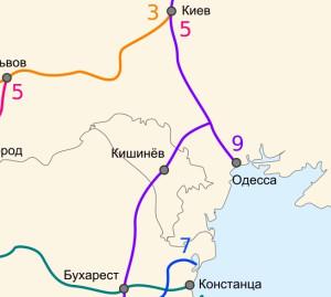 9 Панъевропейский транспортный коридор