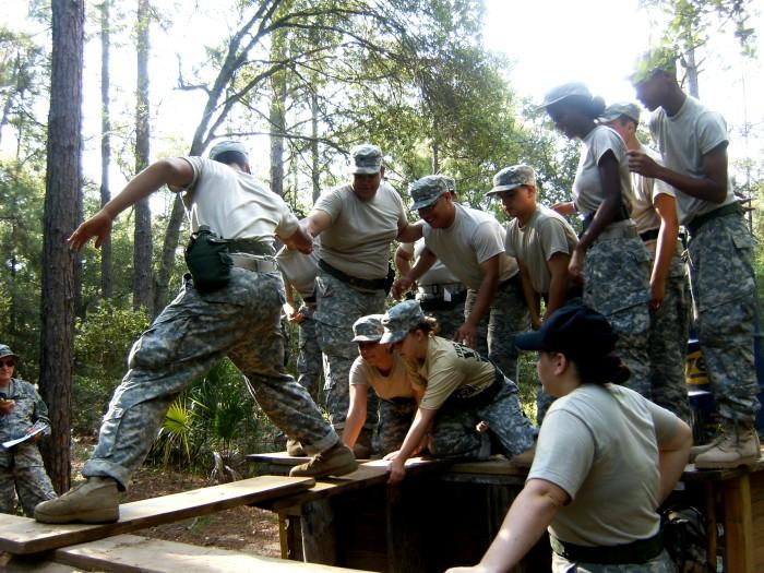 Летний лагерь по вневойсковой подготовке офицеров резерва - школа American