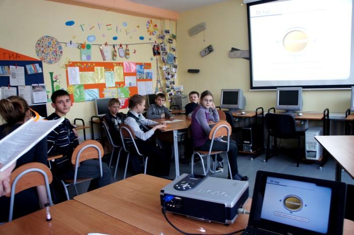 4-класс информатики. Интеллектуальная игра между 5-11 классов