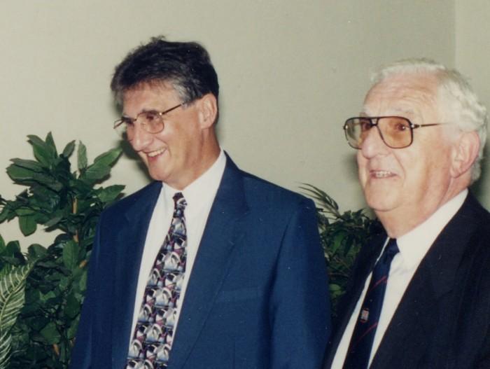 David with Chairman