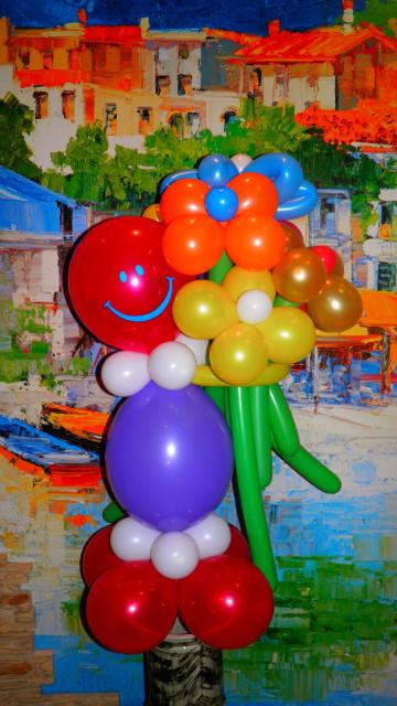 Из шариков на детские праздники киев