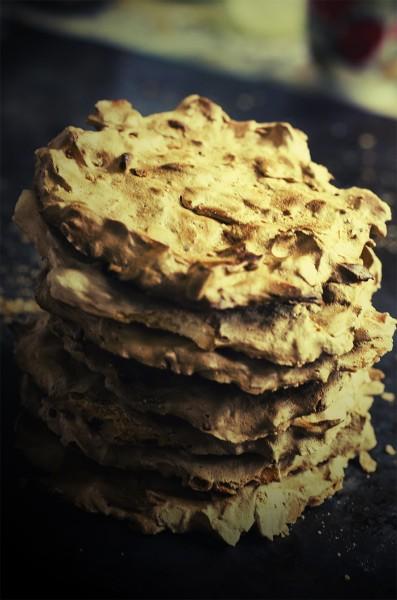 белковое печенье с миндалем
