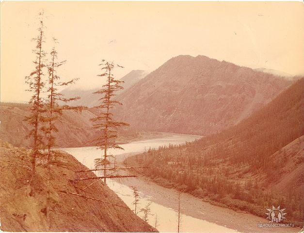 Река Адыча, на берегах которой я росла