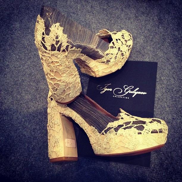 Игорь Гуляев обувь