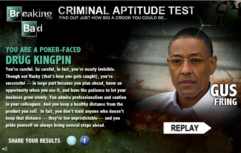 Criminal Aptitude Test