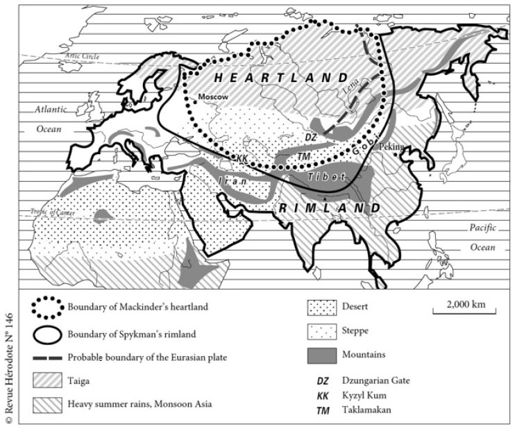 mackinders heartland thesis Mackinder's theory geopolitics is one of the most important topics for understanding of world a lot of heartland and africa created world island together.
