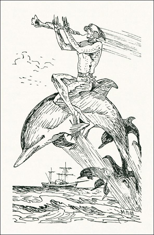 Иллюстрации к рассказу человек амфибия