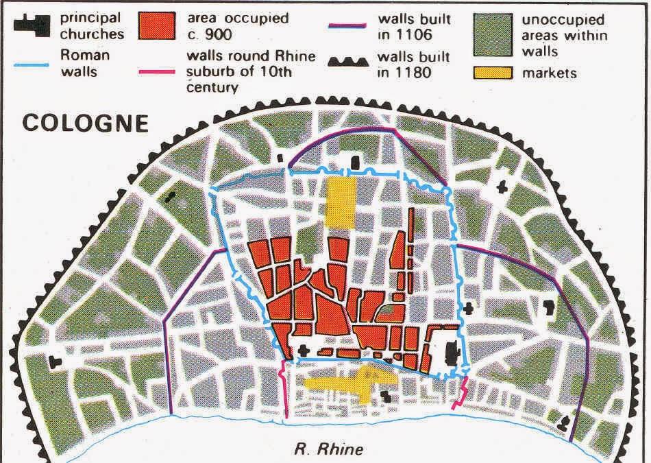 что стены римского города,