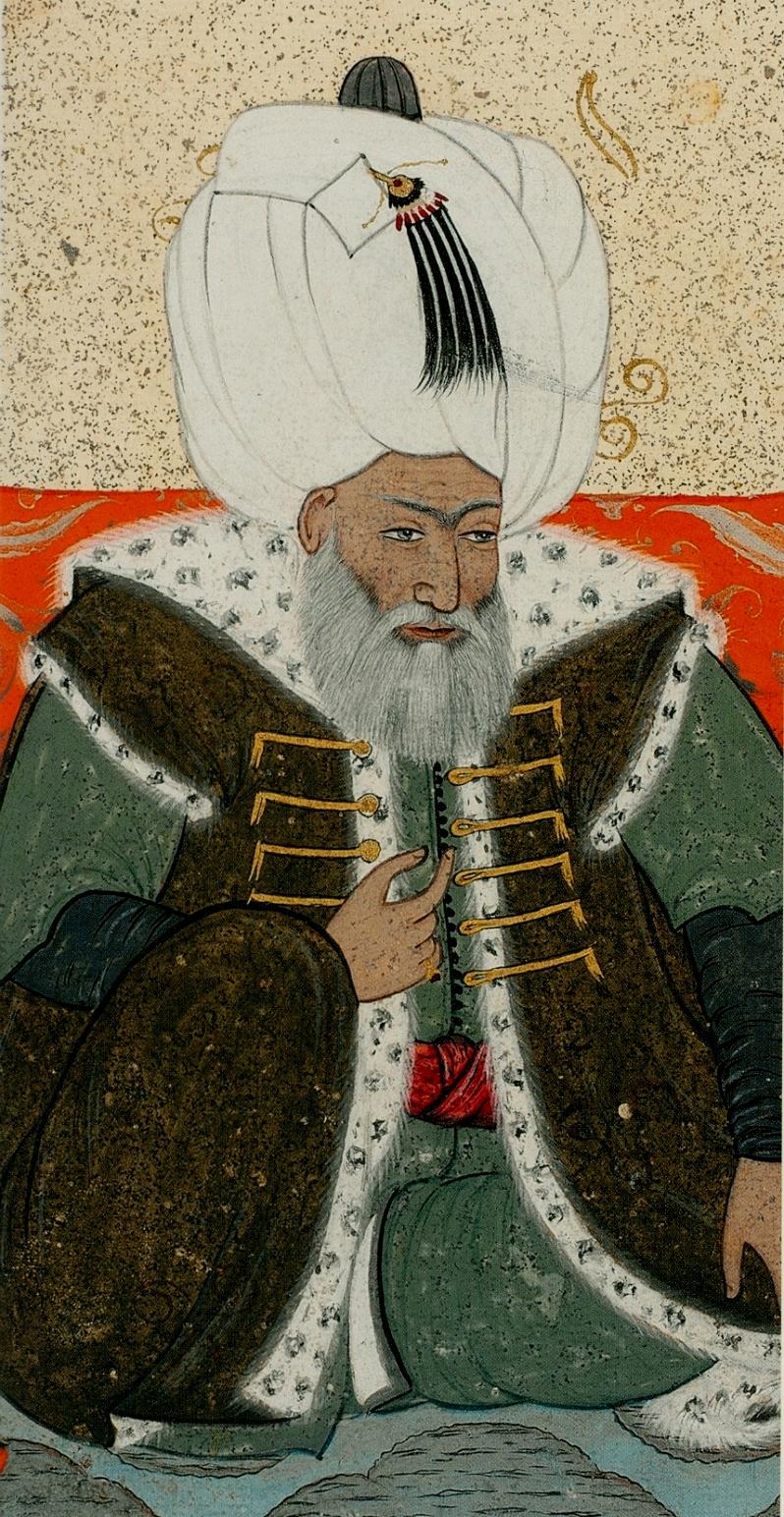 Levni._Portrait_of_Bayezid_II._1703-30_Topkapi_Saray_museum