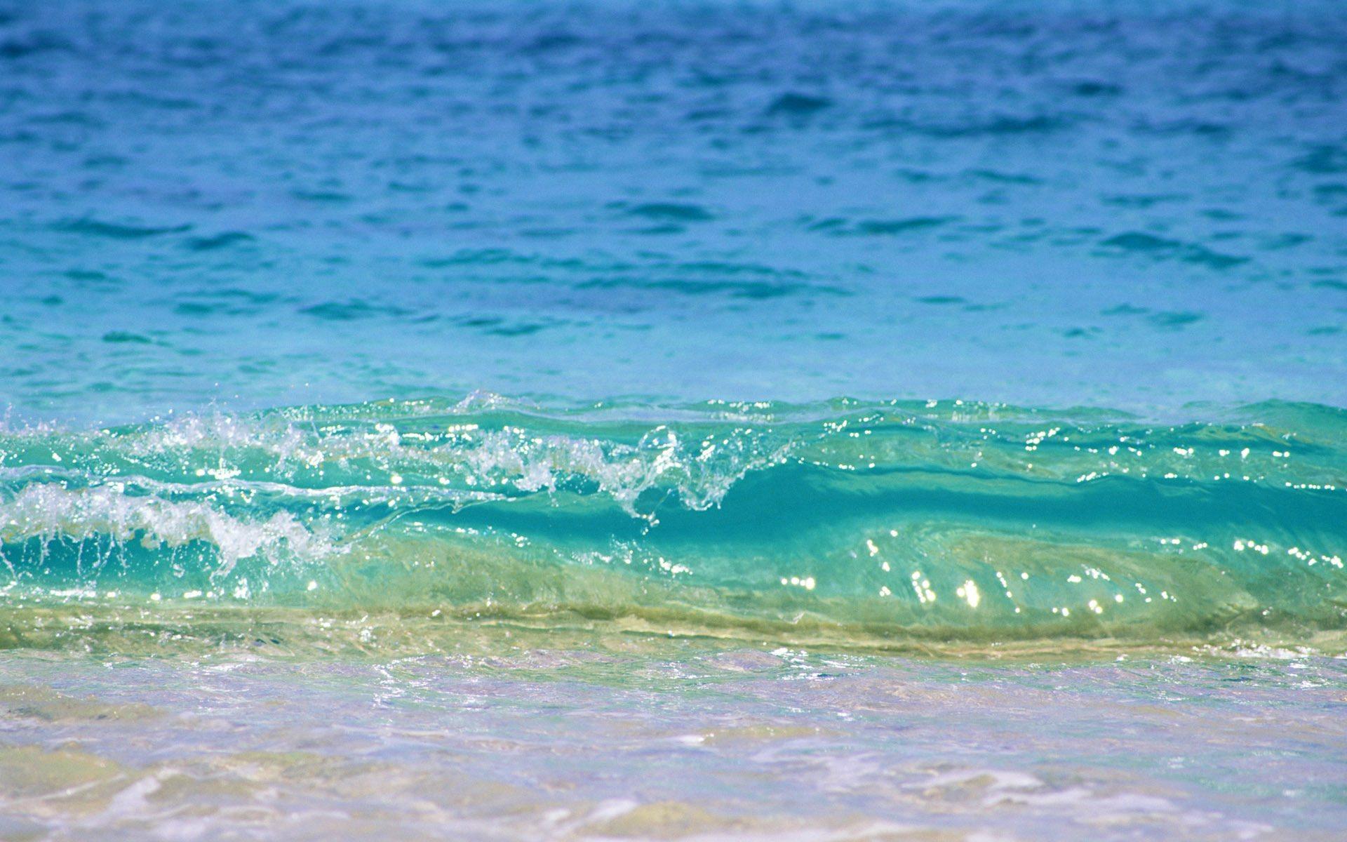 Море голубое волны пирс скачать