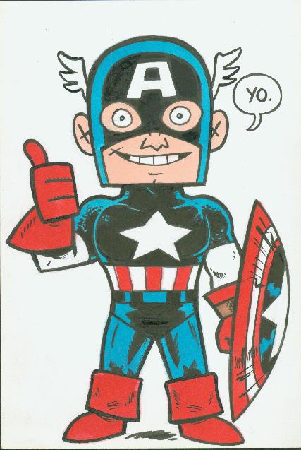 Captain America color