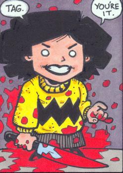 Georgina sketch card