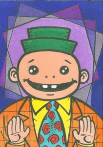Fibbie sketch card