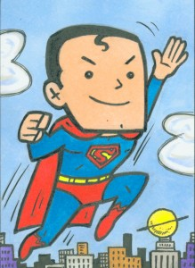 Superman sketchcard2