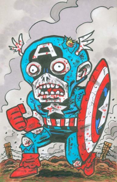 Zombie Cap color