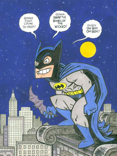 Batman Roof