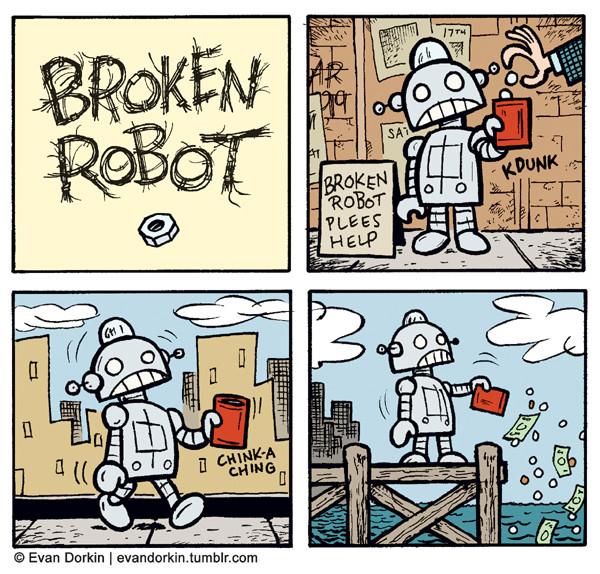 Broken Robot Plees Help