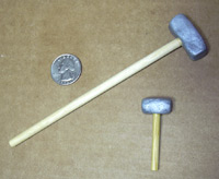 Hand-made Hammers