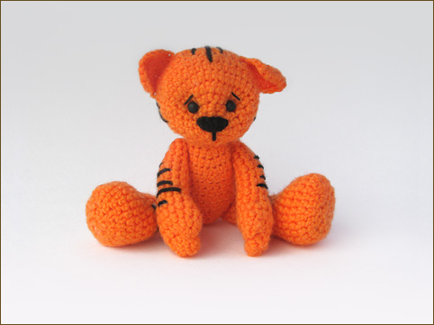 Вяжем тигренка