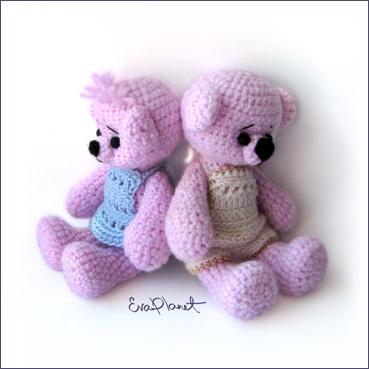 Вязание Мишки