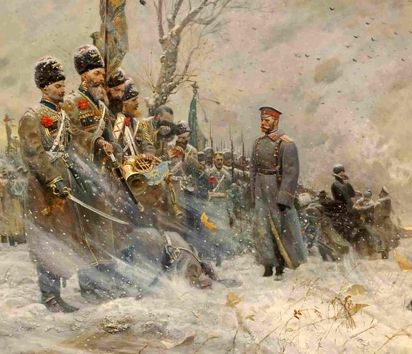 Рыженков_П - Прощание царя Николая II с конвоем_2004_cr2