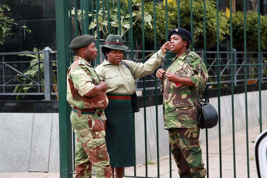 В армии и полиции очень много женщин