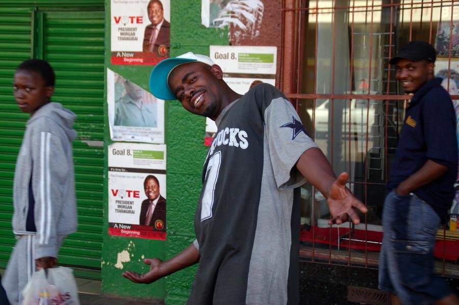 Гарный зимбабвийский хлопчик
