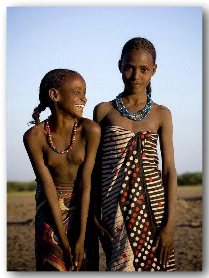 Негритянки в африке
