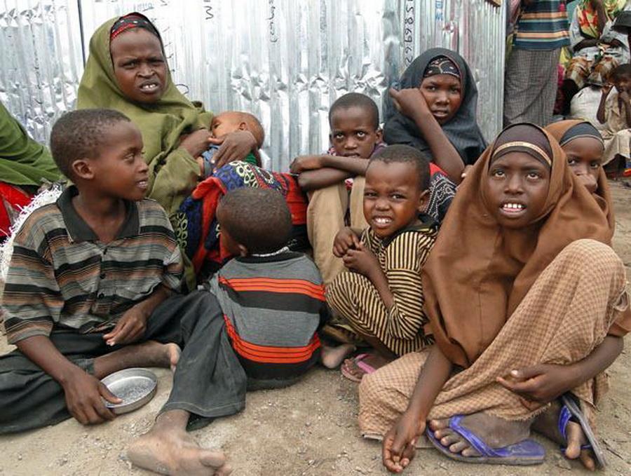 Сколько людей в мире умирают от голода