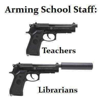 Вооружение учителей в САСШ
