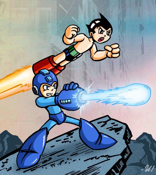 Rockman - Tetsuwan Atom