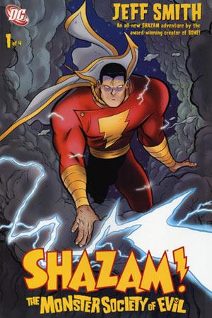 Shazam!:The Monster Society Of Evil