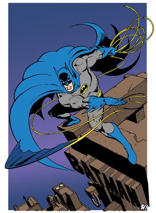 Batman - García Lopez 1 - flats
