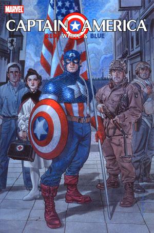 Captain America:Red,White & Blue
