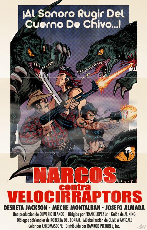 Narcos vs Velociraptors