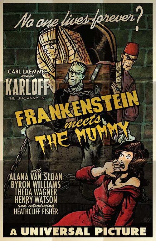 Frankenstein meets the Mummy