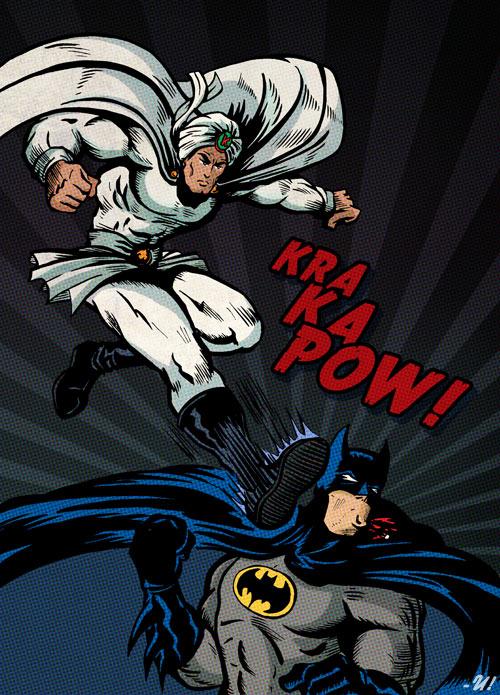 Kaliman vs Batman