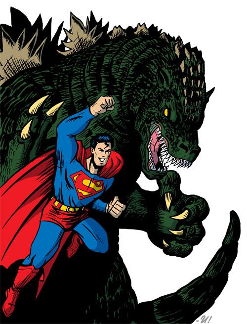 Superman - Gojira
