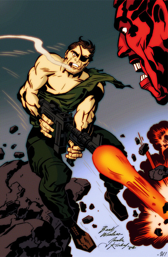 Sgt. Fury - Jack Kirby