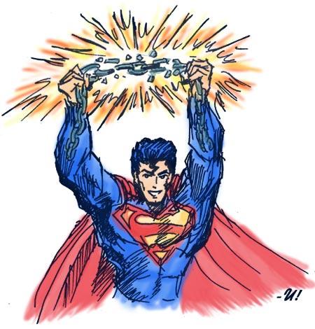 Superman - sketch